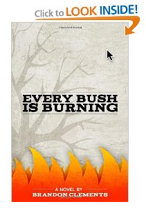 Picture of book every bush is burning